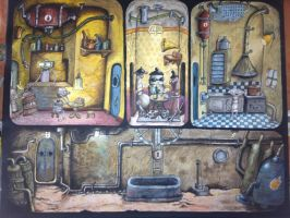 Machinarium by cakesbyrachel