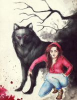 Red Riding Hood by cuddliimuddlii