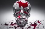 Bleeding Skull by MVestiige
