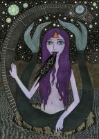 Melusine with Galactic Nessie by bethywilliams