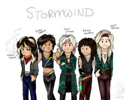 Stormwind ...chibis by zombiepencil