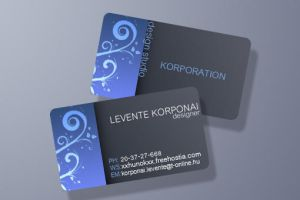 Business Card by 1995levente