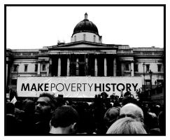 Make Poverty History I by tanya-n