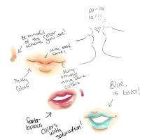 Lip Gloss Study by momohana2