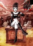 - Goth Ghost Girl - Color by sergio-quijada