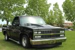 Custom Black Chevy by KyleAndTheClassics