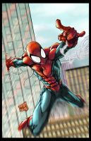 Spiderman 2013 Colors by hanzozuken