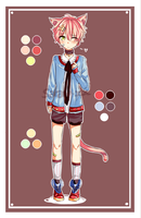 [CLOSED] Auction! Adoptable #5 Neko cutie~ by Saraca-xx