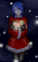 Merry Christmas Aqua by Cicre
