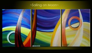 --Sailing on Moon-- by meenajolly