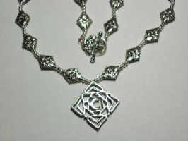Vampire Knight Necklace Redone by CelestialTiger2089