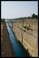 Corinth Canal 2 by Vagrant123