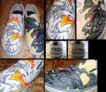 Reshiram and Zekrom Shoes by Brokenfeather-san