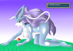 Wild Suicune Appeared! by Latiar027