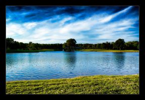 Golf Course Lake by joelht74