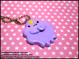 Lumpy Space Princess Necklace by GrandmaThunderpants