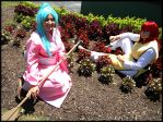Yu Yu Hakusho - Kurama and Botan by Shiera-Sama