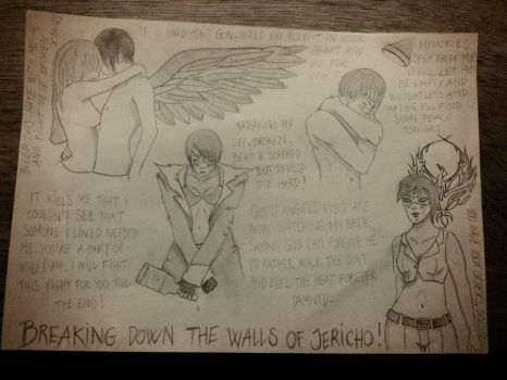 Breaking down the walls of Jericho by Nemesister-dk