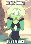 Peridot the Gemophobic by ToaJahli