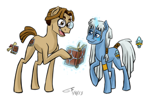 Atla Ponies by Kudalyn