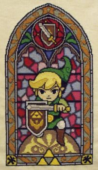 Link Cross Stitch by trufflefunk