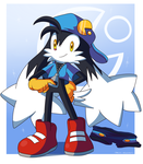 Klonoa doesn't need clothes by Domestic-hedgehog