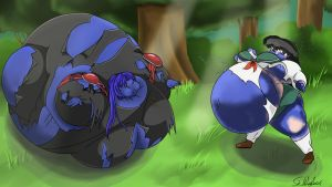 Don't Pick Weird Blueberries by SirWiggles