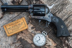 Colt Single Action Army - 3rd Generation 4 3/4 45 by PLutonius