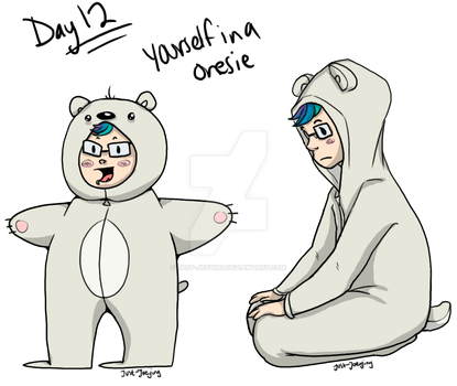 Day 12 - In a Onesie by Just-Joeying