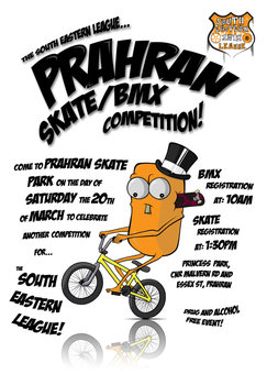 Skate Competition Poster 2 by kitty-23