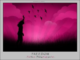 Pink Freedom by q8-princess