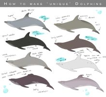 How to make 'unique' dolphins by Nimkish