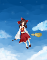 Reimu by Remikia