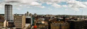 Panorama from Greys Monument by svendo