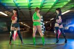 Persona 4 Race Queens: Rise, Yukiko and Chie by AzHP