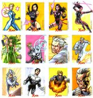 X-Men Archives Set 6 by ryanorosco