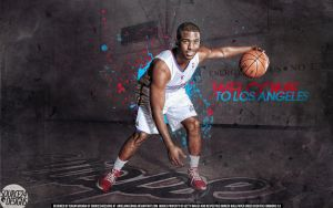 Chris Paul Clippers Wallpaper by IshaanMishra