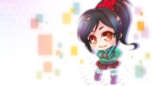.:Vanellope:. by PrinceOfRedroses