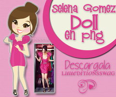 Doll Selena Gomez by LuuEditionsSwag