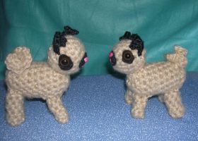Tiny Pugs by Eliea