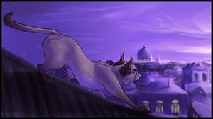Rooftop Purple by 1skylight1