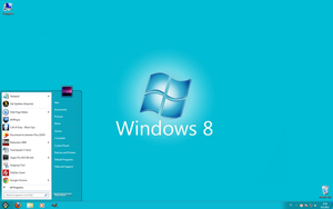 Windows 8 Theme by XioFox