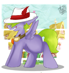 +MLP:HS - Dat hat+ by A-Ponies-Love