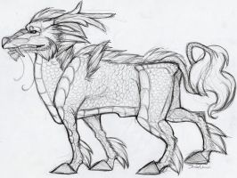 Qilin Design by TheSolitarySandpiper