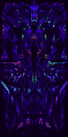 more concept art for nowhere - sacred blacklight by SylviaRitter