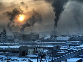 Russia...winter... morning... by SUPERRR-DuDE