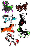 Adoptables for sale OPEN 1 left by DeepDownSickness