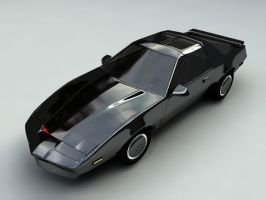 KITT render by ThunderChildFTC