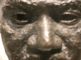 Face of Dr. King, up close by Flaherty56