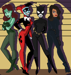 The Four Vixens by Knight-Watcher